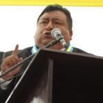 """(AUDIO) Alcalde Carlos Palomino: """"Mucha de la basura son de los cerros"""""""