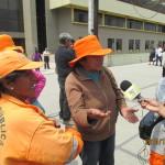 Obreros municipales protestarán contra política antilaboral
