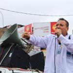 Vecinos marcharon contra gestión de alcalde Palomino