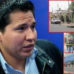 """""""Hacemos lo que podemos"""", señaló alcalde Guido Iñigo sobre inseguridad ciudadana"""