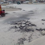 Abandono de obras en Av. Pastor Sevilla genera caos vehÍcular