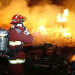 Cuatro viviendas se incendiaron en Asentamiento Humano Indoamericana