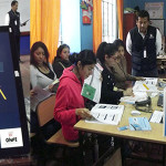 Capacitarán más de mil miembros de mesa en manejo de voto electrónico