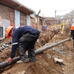 Beneficiarios del proyecto de agua y desagüe contaran con servicios en el 2017