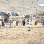 Vecinos de la asociación central unificada atemorizados por traficantes de terrenos