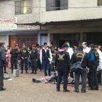 Pobladores atemorizados por el sicariato en Villa María del Triunfo