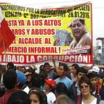 Anuncian marcha contra gestión de alcalde Carlos Palomino por presuntos actos de corrupción