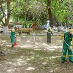 Regidor señaló que municipio priorizará recuperación de parques y áreas verdes
