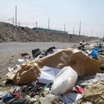 Basura genera olores nauseabundos en el cruce de avenidas Mariátegui y Separadora Industrial