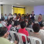 """FOVIDA realiza campaña """"Estamos Luchando"""" en la Comisaría de la Mujer"""