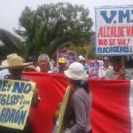 Comerciantes informales emplazan al JNE para que sancione al alcalde Carlos Palomino