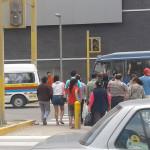 Centro Comercial Real Plaza retira paraderos en avenida 26 de Noviembre, denuncia dirigente