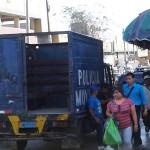 Comerciantes informales fueron desalojados de la avenida San Juan