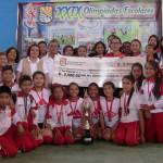 Colegio Fe y Alegría obtuvo el título de campeón de la 29 Olimpiadas preescolares