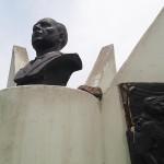 Ciudadanos realizan campaña para recuperar monumentos en mal estado