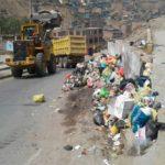 Realizan campaña de limpieza en las siete zonas del distrito