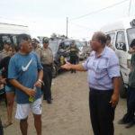 Transportistas de la empresa San Genaro protestaron ante deudas que se les atribuye por su compañía