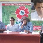 Representantes de Frente Amplio cuestionan la gestión del alcalde Guido Iñigo
