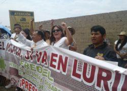 Pobladores y autoridades apoyan construcción del Museo Nacional de Arqueología