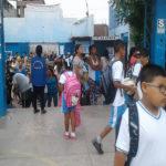 350 mil escolares regresaron a clases en Lima Sur