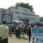 """Piden apoyo de alcalde para obtener título de propiedad del colegio """"Inca Pachacútec""""."""