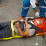 Accidente de tránsito deja herido a conductor de mototaxi