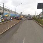 """Ambulantes serían una """"bomba de tiempo"""" en  Av. Pachacutec frente al terminal Pesquero"""