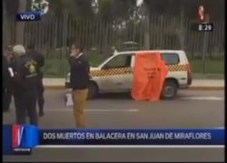 Dos personas muertas en asalto por tres delincuentes