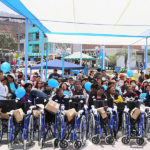 Entregan 60 sillas de ruedas a personas con discapacidad en Villa María del Triunfo