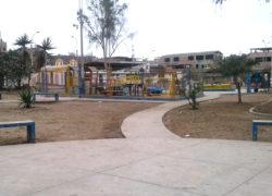 """Piden apoyo para parque """"Santa Rosa """"que se encuentra olvidado"""