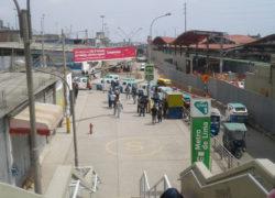 mototaxistas se enfrentaron por paradero cercano a Parque Industrial