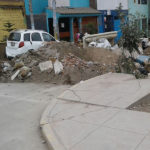 Desmonte afecta a vecinos que residen en av. Talara con Central