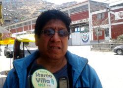 Dirigente pide que alcalde apoye demandas de comunidades altas