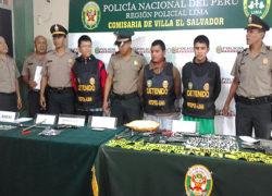 Mayoría de bandas criminales de Villa El Salvador estarían integradas por jóvenes