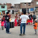 """Realizan festival internacional de la cultura en asentamiento humano """"La Encantada"""""""