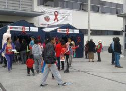 Hospital de emergencia realizó campaña contra el VIH