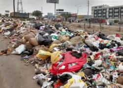 Más de 10 toneladas de basura preocupa a estudiantes de instituto superior tecnológico San Francisco de Asís