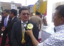 """Lurín: """"Hay alta morosidad de los contribuyentes """", sostiene alcalde José Arakaki"""