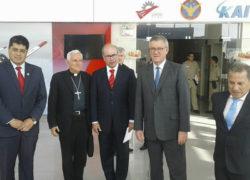 Supervisan obras en Base Aérea de las Palmas para la visita del Papa
