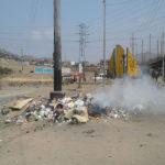 Villa El salvador: Desmonte en Av. Pumacahua afecta a población de agrupación de viviendas Hijos de Villa