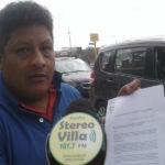 """Villa El Salvador: Colectivo """"Taxicoves"""" pide anulación de autorización de paradero a nueva empresa por ser arbitraria"""