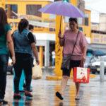 Tensión en pobladores a causa de las fuertes lluvias