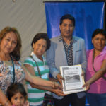 Entregan expedientes de proyectos para zona de Tablada en Villa María del Triunfo