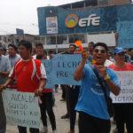 Mototaxistas exigen a Municipalidad de Villa El Salvador que se abra nueva Asociación de Mototaxis