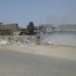 Denuncian que personal de la Municipalidad de Villa El Salvador ocasiona quema de basura en Av. Mariátegui