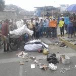 Villa María del Triunfo: Pobladores protestan frente a Palacio de la Juventud por ineficiencia de recojo de basura