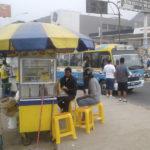 Ambulantes de avenida Pachacútec exigen recojo de basura por presencia de moscas.