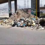 Villa El Salvador: Av. Mateo Pumacahua presenta desmonte y basura en sus principales paraderos