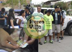 Villa el Salvador: Detienen a presunto clan de microcomercializadores de droga
