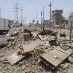 Avenidas Pachacútec y Mateo Pumacahua se han convertido en un mini botadero de basura y desmonte